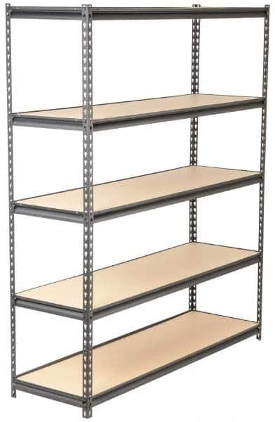 Edsal 5 Shelf Open Maxi Rack Starter Steel Shelving 1 000 Lb Capacity