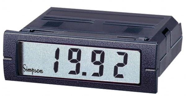 Digital Amp Meter Panel : 3 1 2 digits digital lcd ac ammeter panel 00056663 msc