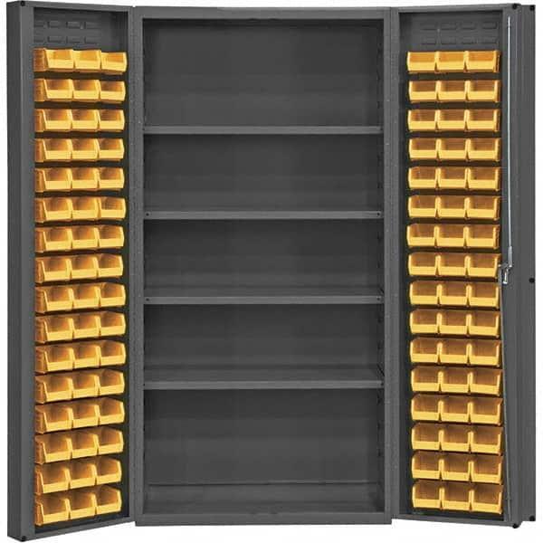Durham 4 Shelf 96 Bin Storage Cabinet