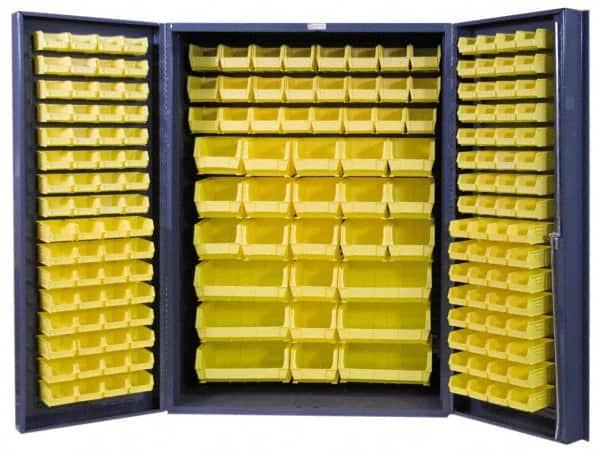 Great Durham 176 Bin Storage Cabinet   Steel, 48