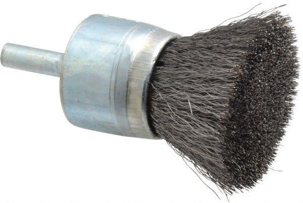 1 Diam Knotted End Brush 1//4 Shank Diam 20,000 Max RPM Osborn