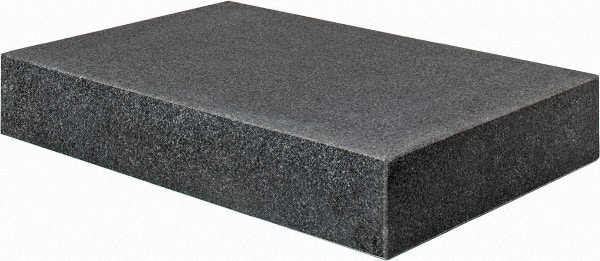 Value Collection 18 Long X 12 Wide X 3 Thick Granite Inspection Surface Plate 00150011 Msc Industrial Supply