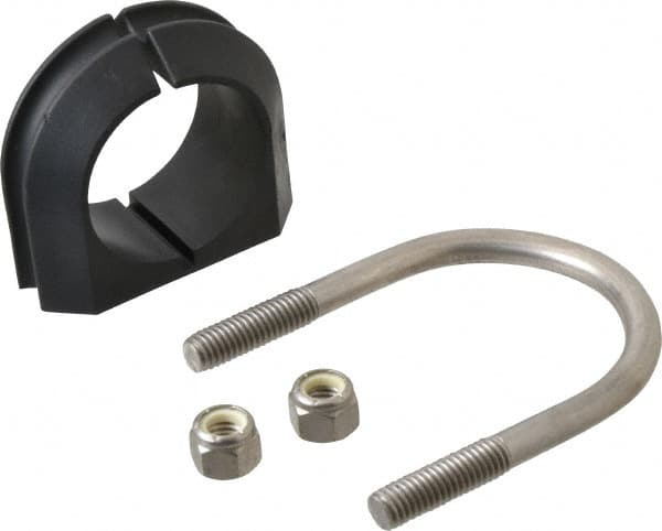 zsi 112 stainless steel ubolt cushioned clamp ub11