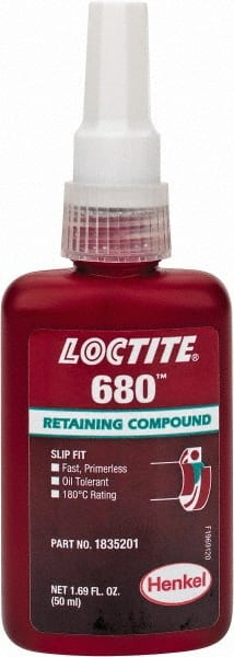 Loctite 50 Ml Bottle Green High Strength Liquid Retaining Compound 00202259 Msc Industrial Supply