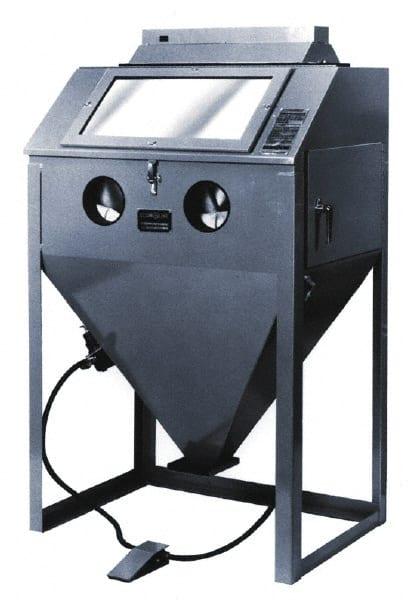 econoline ra300 super w100cfm sandblast cabinets 101693sa