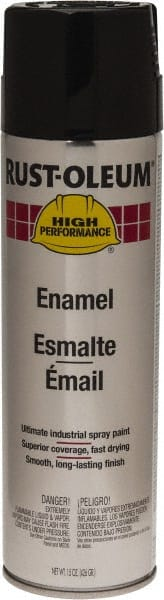 Black, 15 Ounce Net Fill, Gloss, Enamel 00240481 - MSC