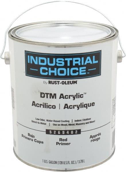 1 Gal Red Water-Based Acrylic Enamel Primer 00242743 - MSC