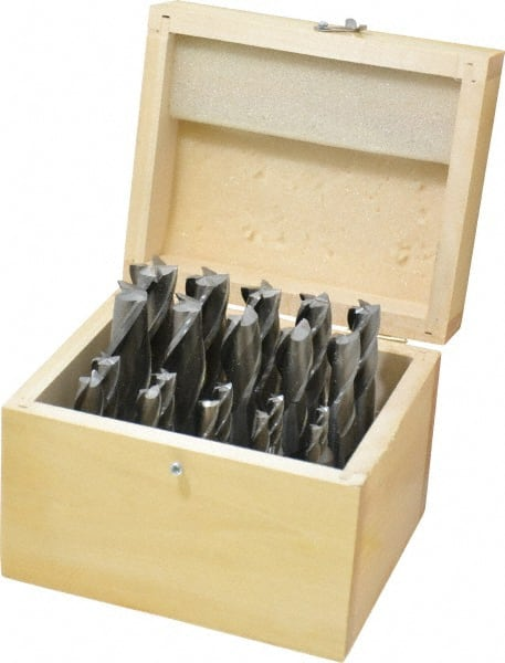 """Interstate End Mill 3//4/"""" x 3//4/"""" x 4/"""" x 6-1//4/"""" HSS 2F Uncoated 720-1541"""