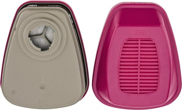 3M - Magenta and Black P100 Cartridge and Filter Combination
