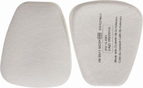 3M - 10 Qty 1 Pack White N95 Filter - 00324558 - MSC Industrial Supply
