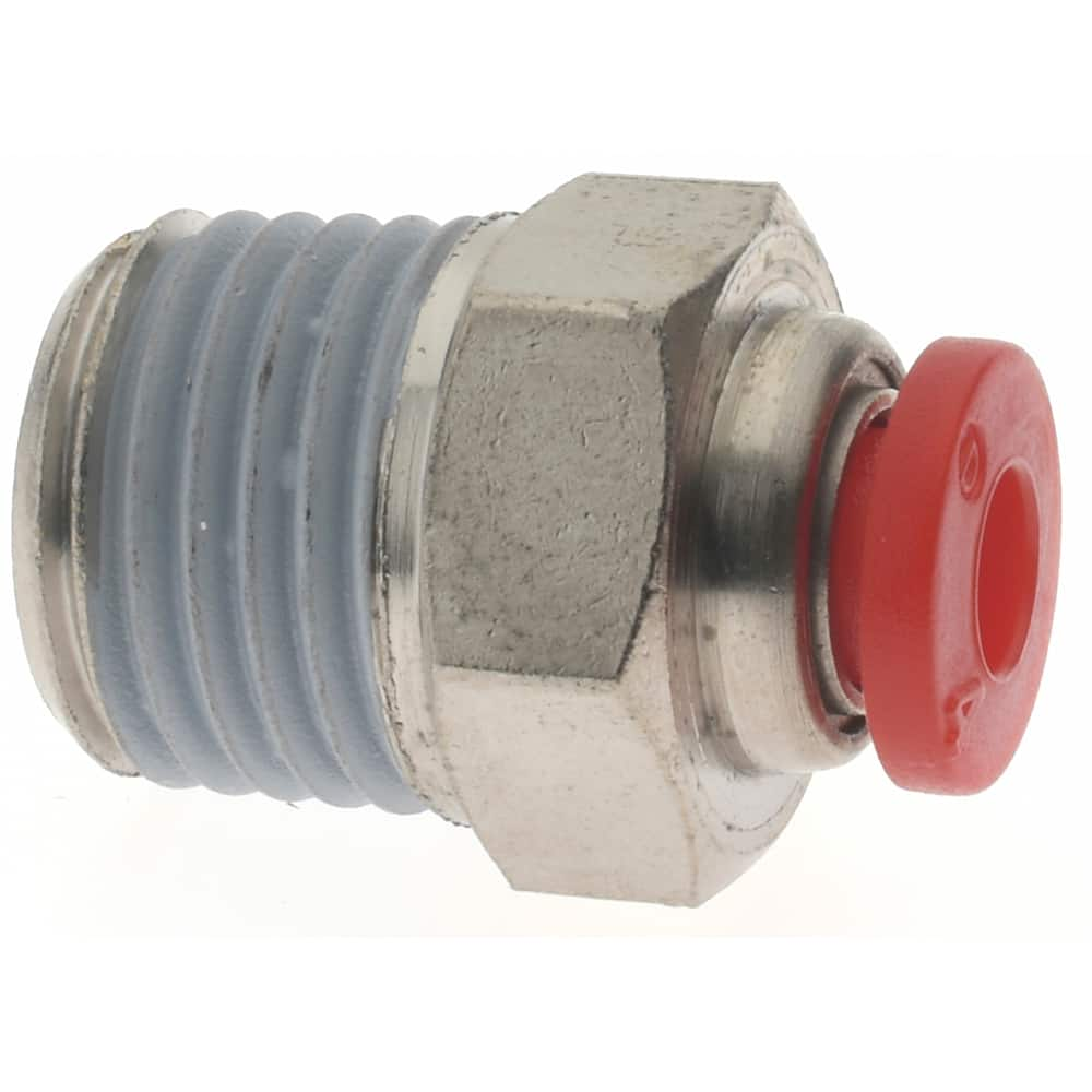 """4 X Male 1//4/"""" OD 10mm Swivel Elbow Push In Pneumatic Fitting Connecter QUALITY"""