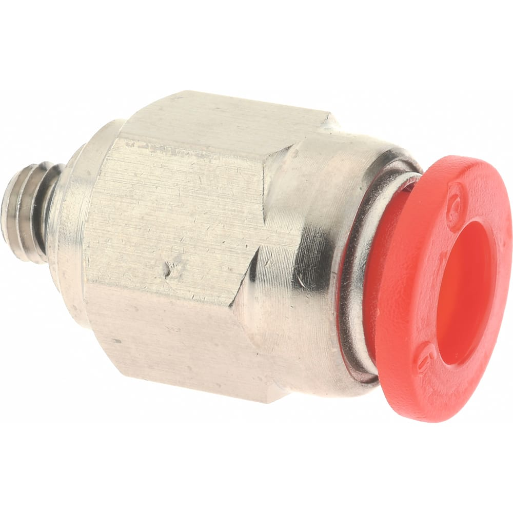 6mm Tube OD x M6x1 Male SMC KS Series PBT Rotary Push-to-Connect Tube Fitting 90 Degree Elbow
