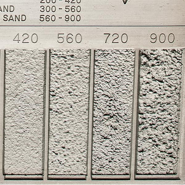 GAR - 20 to 900 micro Inch Surface Finish, Nickel, Surface