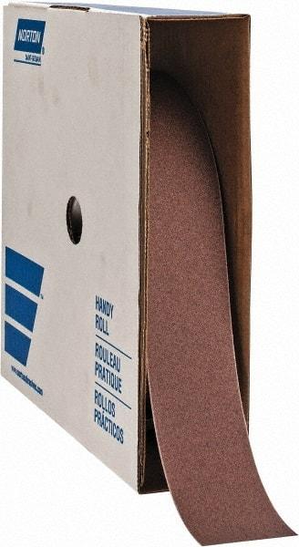 "J Weig... Norton 1/"" x 50 Yd 600 Grit Aluminum Oxide Cloth Roll Extra Fine Grade"