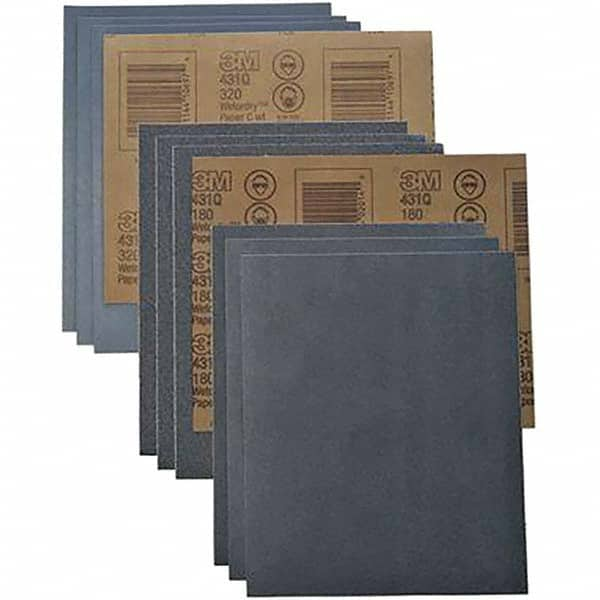 10 x Grit 180 Wet and dry Sandpaper Sheets waterproof Abrasive Medium Quality Silicon Carbide