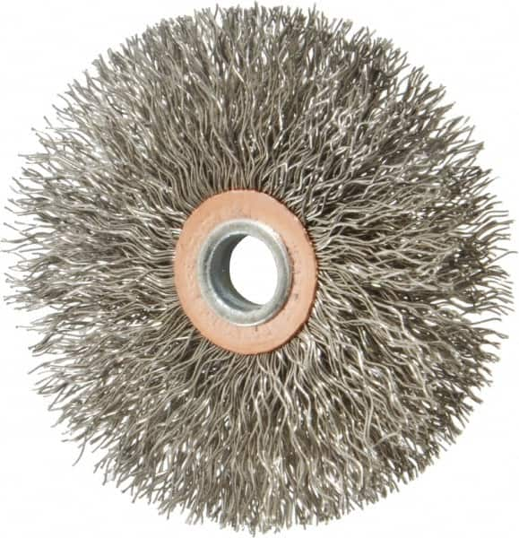 24PC Stainless Steel//Brass Wire Brush Brushes Wheel For Rotary Tool 3mm Shank