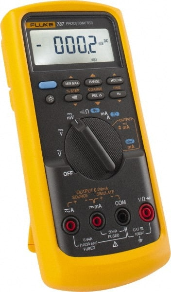Fluke - 787, CAT III, 1,000 VAC/VDC, Digital Auto Ranging