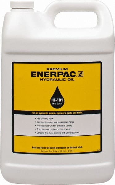 Enerpac - 1 Gal Bottle, Mineral Hydraulic Oil - 00923102