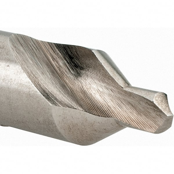 TiALN Coated Round Shank 3//8 Body Diameter 1//4 Shank Diameter 90 Degree Point Angle KEO 55723 Solid Carbide Single-End Countersink Single Flute