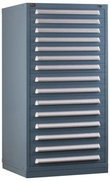 VIDMAR 10 Drawer Preconfigured Modular Storage Cabinet   30 Inch Wide X  27 3/