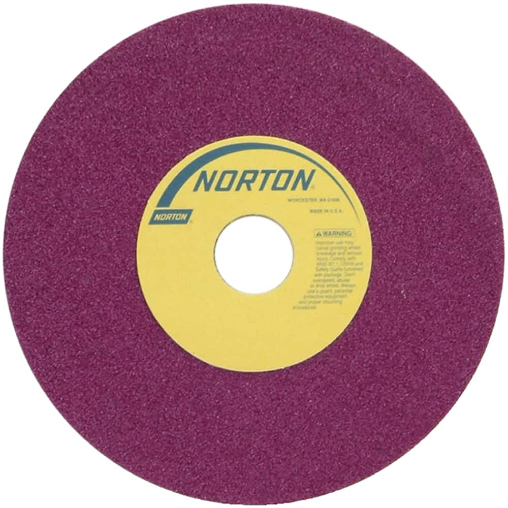 No Recess Specification: RA46-J8-V8 RADIAC Ruby Surface Grinding Wheel Type 01 Size: 6 x 1//2 x 1-1//4 STYLE: Straight