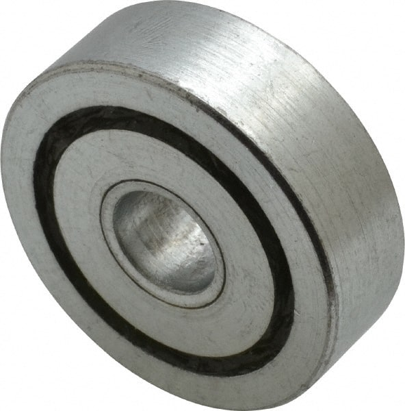"""Heavy Duty Flanged Full Complement Wheel Ball Bearing 1/""""x 2/""""x 5//8/"""" Inch 1/"""" Bore"""