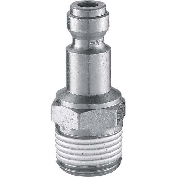 Compatible with Prevost 1//4 Female NPT Industrial Interchange Steel Coupler Plug