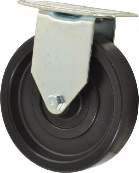 Swivel 5 Wheel Dia 280 lbs Capacity 5-1//2 Mount Height Wagner Stem Caster 1-3//8 Stem Height Polyolefin Wheel 7//16 Stem Dia 1-1//4 Wheel Width Plain Bearing E.R