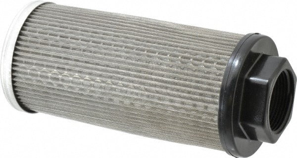 Mesh Size 100 1-1//4 Female NPT Flow Ezy Filters 1-1//4 Female NPT Nut Style Strainer F10 100//30 Pipe Mounted Suction Screen Inc