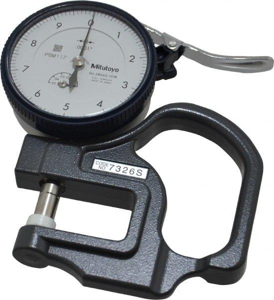Mitutoyo Measuring Equipment : Mitutoyo thickness measuring tool mscdirect