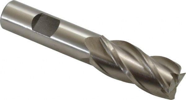 "Square End 4 Flute M42 Cobalt End Mill Center Cutting 1//2/"" Dia"