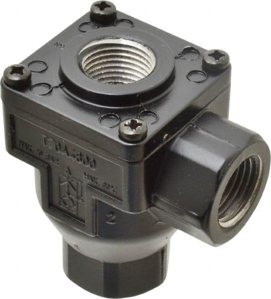 """Norgren 1//4/"""" NPT Quick Exhaust Valve 7 to 145 psi Zinc Material"""
