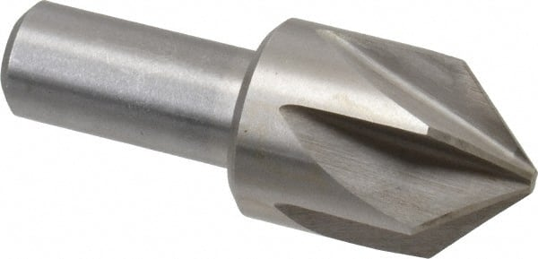 "2/""OAL USA 1//4/"" 100° 1 Flute Solid Carbide Single End Countersink 1//4/"" Shank"
