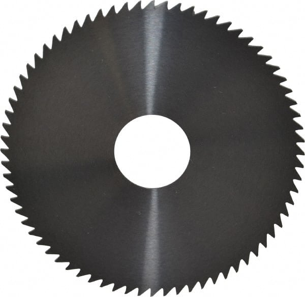 ".020/"" Thick x 2-3//4/"" Diameter x 1/"" Arbor Hole 72 Teeth HSS Screw Slotting Saw"