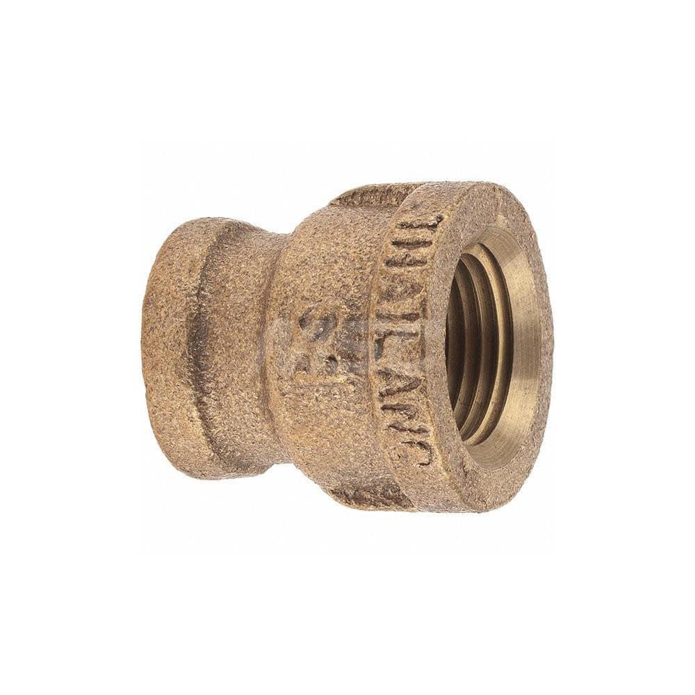 Reducing Tee 1//4 x 1//8 x 1//4 NPT Female Brass Pipe Fitting Class 125