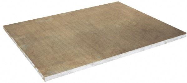 """2/"""" thick Precision CAST Aluminum PLATE 7.375/"""" x 9.75/"""" Long sku 175608"""