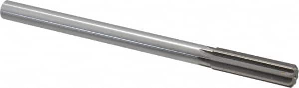 """Made in USA 0.437/"""" 6 Flute High Speed Steel Dowel Pin Chucking Reamer Straigh..."""