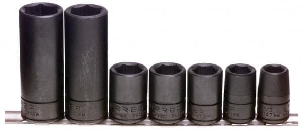 GEARWRENCH 1//2 Drive 6 Point Standard Universal Impact Metric Socket 14mm 84614N