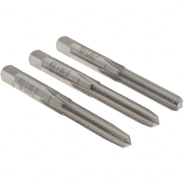 HSS-G 3-piece tap set M12x1.75 metric coarse,fully ground threads taper//2nd//plug