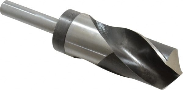 """Cobalt 37//64/"""" Silver and Deming Drill Bit 1//2 inch Shank"""