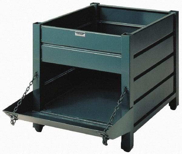 Steel Bulk Storage Containers MSCDirectcom