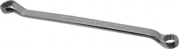 Wright Tool 51415MM 12 Point Metric Box End Wrench with Standard Double Offset 14mm x 15mm
