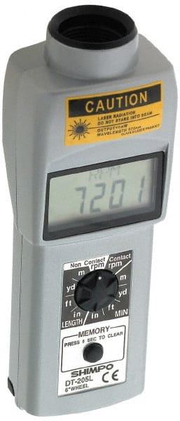 Contact Tachometer | MSCDirect com