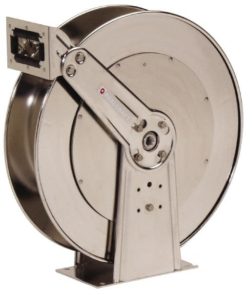 reelcraft 1inches x50u0027 hose cap 500psi stainless steel hose reel d84000 ols - Retractable Hose Reel