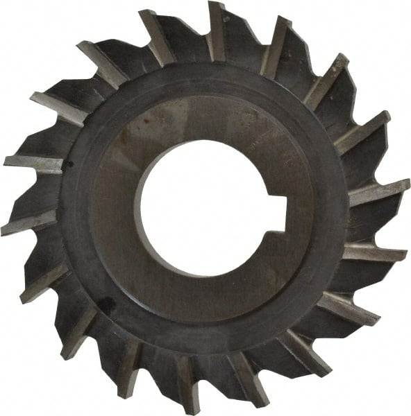 1.25 Hole Size High Speed Steel 6 Diameter F/&D Tool Company 10893-A5613 Side Milling Cutter 3//8 Width of Face