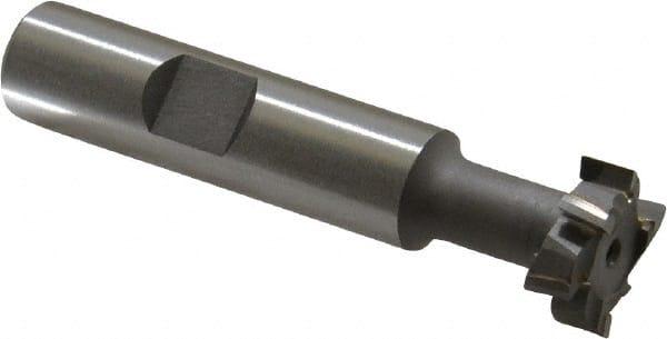 40582 1 1//4 Shank High Speed Steel Staggered Tooth 1 27//32 Diameter 53//64 Wide 1 Bolt Diameter USA Made HSS T-Slot Cutter Super Tool