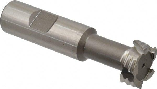 """Roughing 3//4/"""" Cobalt Steel T-Slot Cutter"""