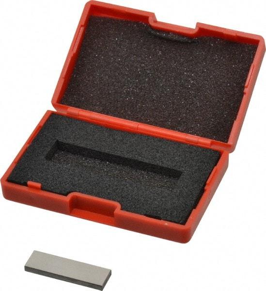 NIST Traceability Certif... Grade AS-1 Steel Gage Block Rectangular SPI 1 Inch
