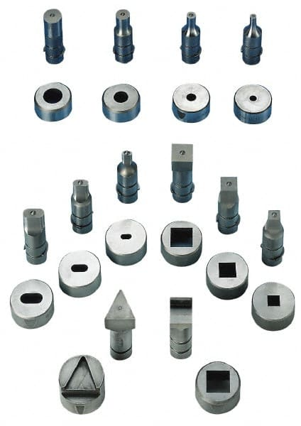 Metalpro - Pipe & Tube Notching Dies Pipe Size Compatibility