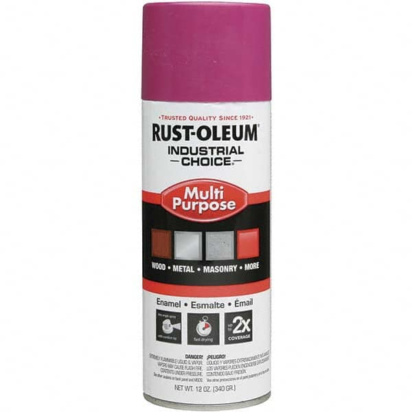 Rust Oleum Safety Purple Gloss Enamel Spray Paint 03688785 Msc Industrial Supply